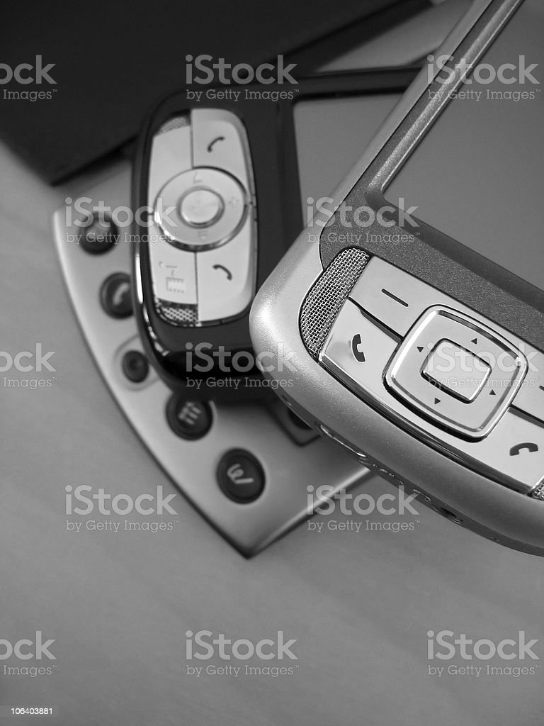 PDA Devices stock photo