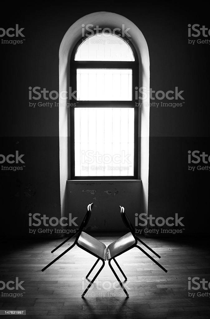 devil chair's stock photo