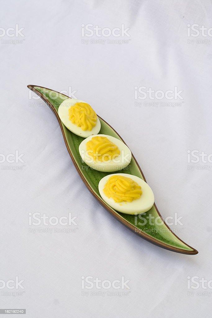 Devil Eggs stock photo