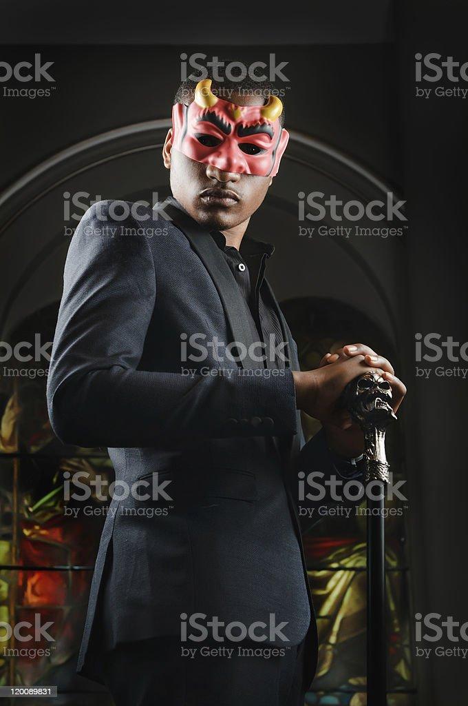Devil Man royalty-free stock photo