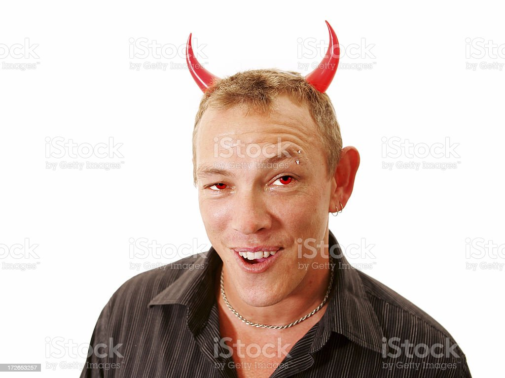 Devil May Care stock photo