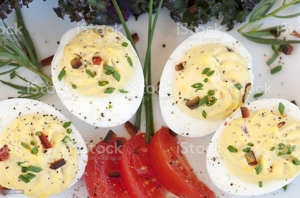 Deviled Eggs royalty-free stock photo