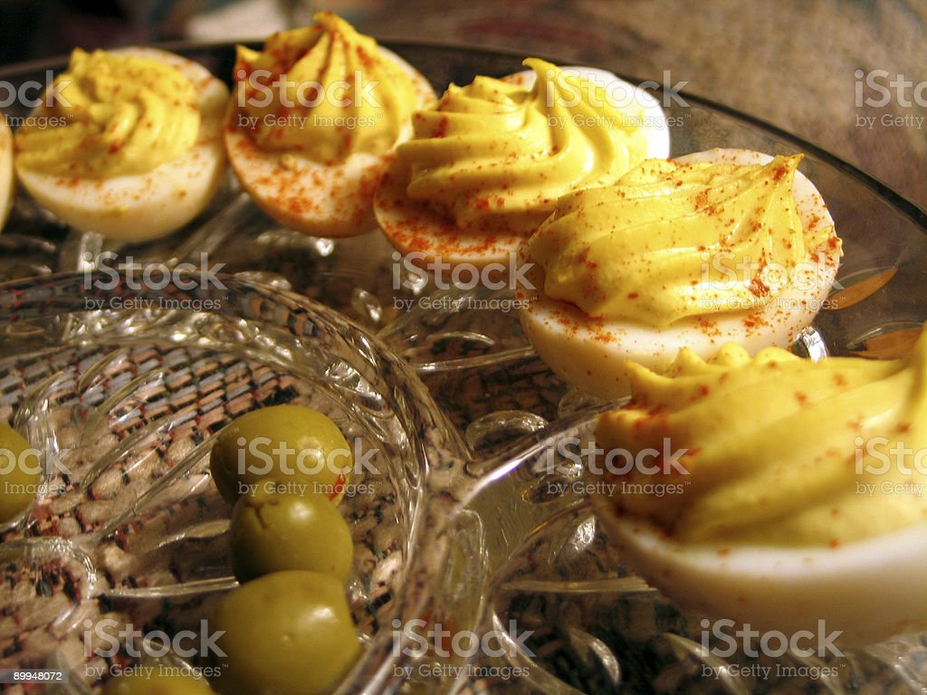 Deviled Eggs royalty-free stock photo