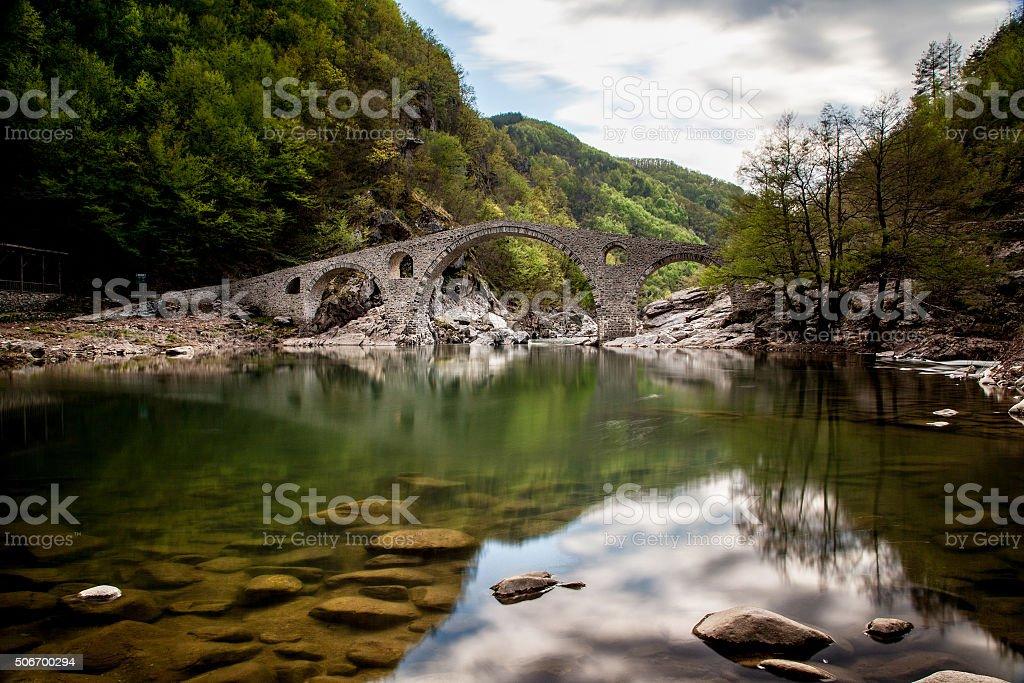 Devil's Bridge, Bulgaria stock photo