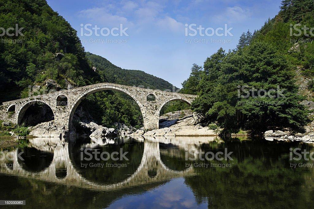 Devil's Bridge royalty-free stock photo