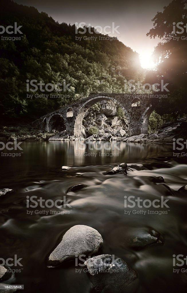 Devil's Bridge stock photo