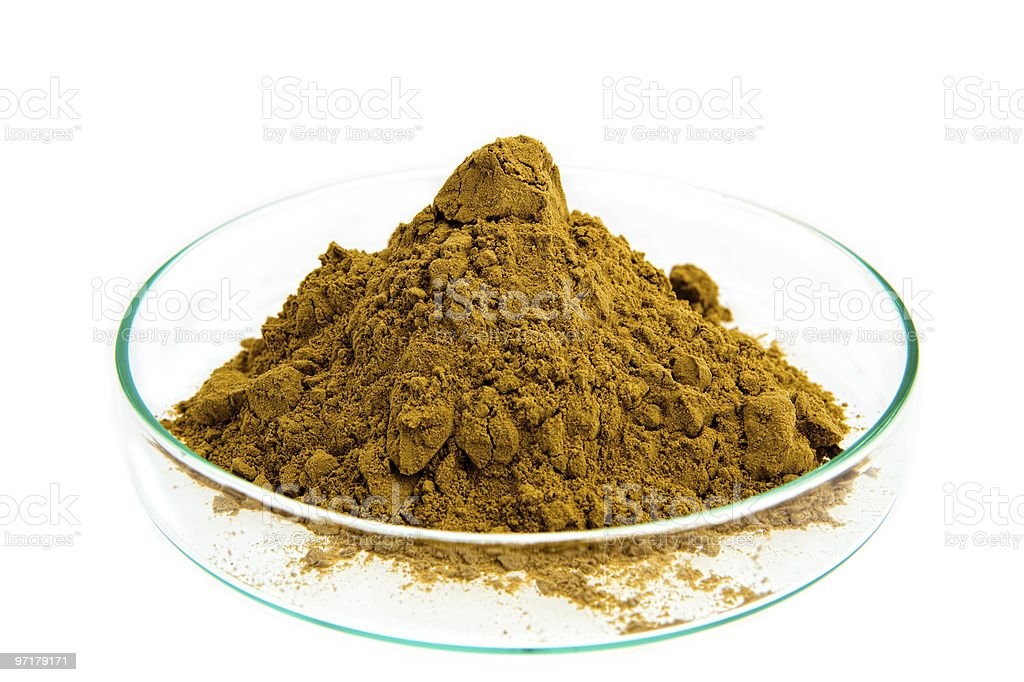 Devil's claw Dry Extract royalty-free stock photo