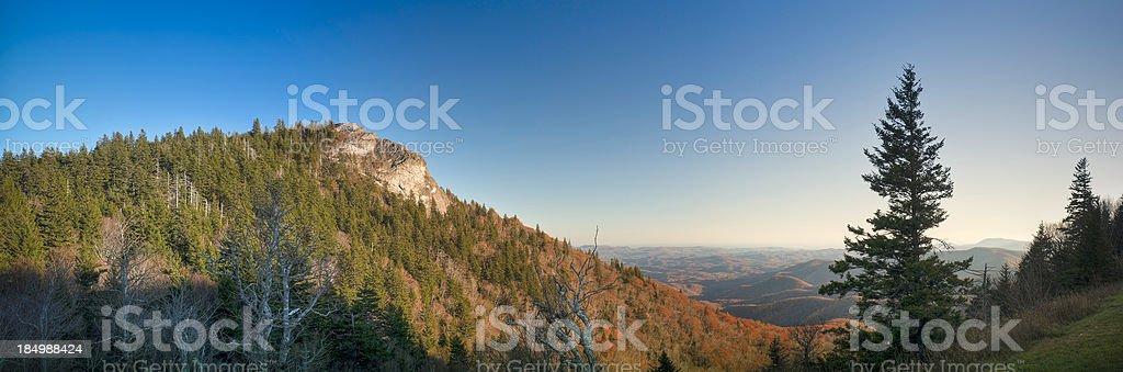 Devils Courthouse, Great Smoky Mountains, North Carolina, USA royalty-free stock photo