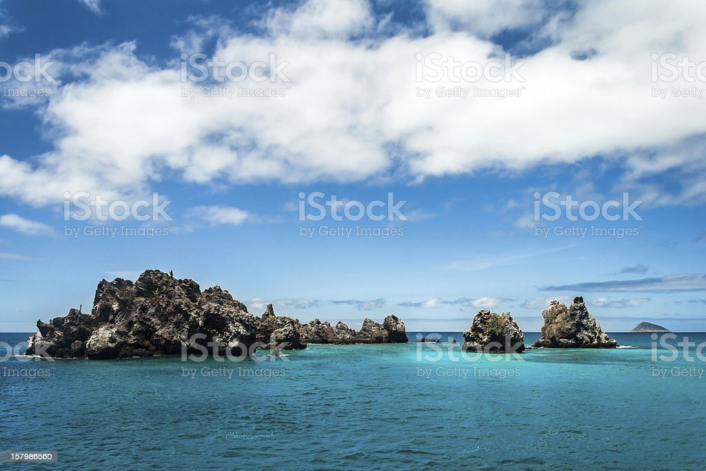 Devil's Crown, Galapagos Islands stock photo