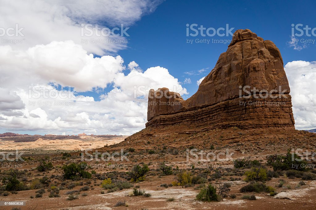 Devil's Garden, Arches National Park stock photo