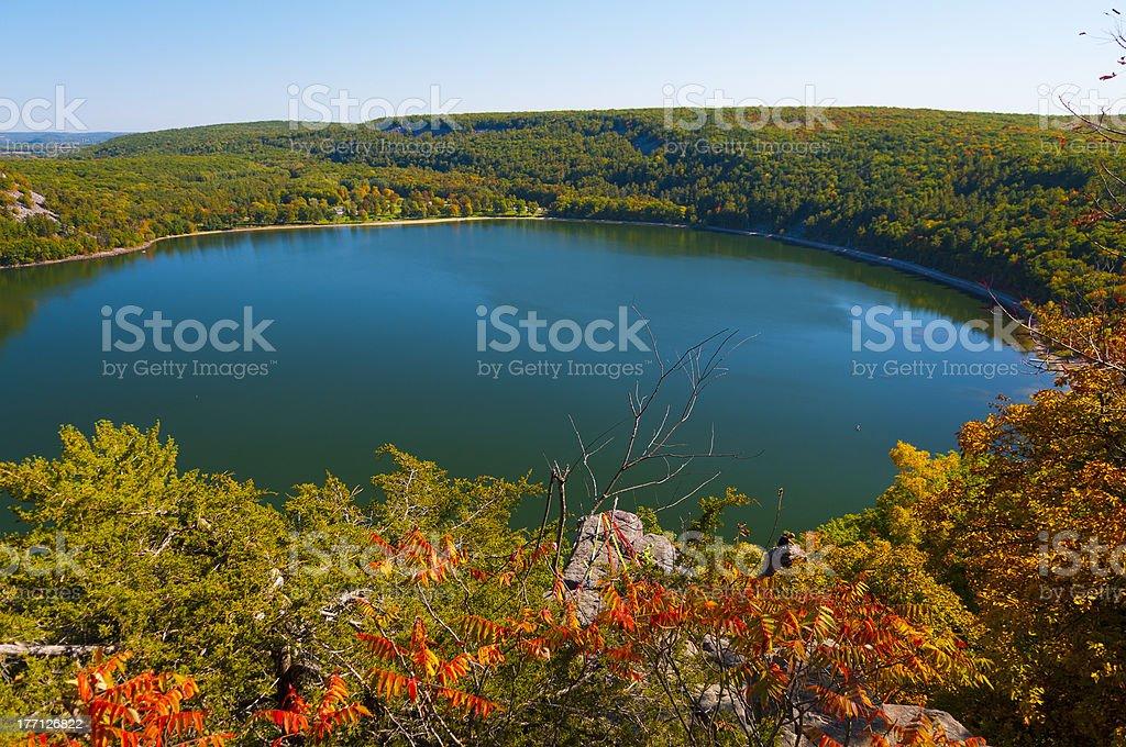 Devil's Lake stock photo