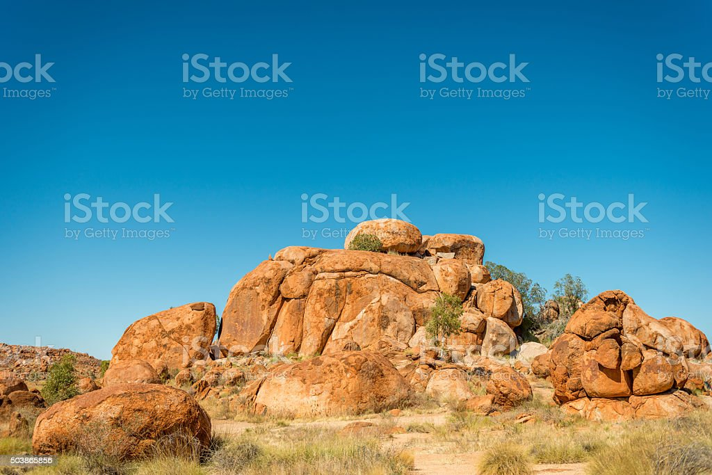 Devils Marbles, Northern Territory stock photo