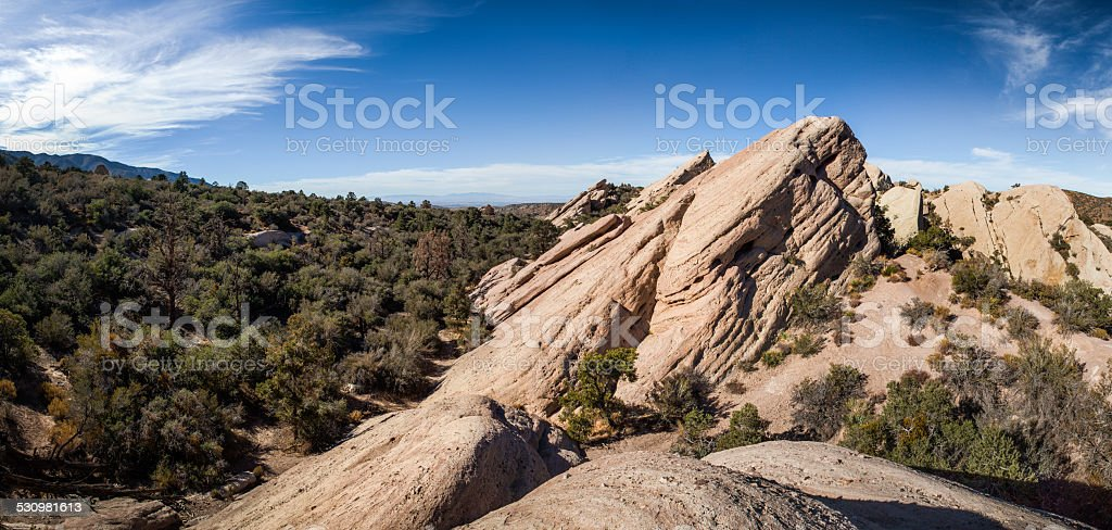 Devil's Punchbowl, California royalty-free stock photo