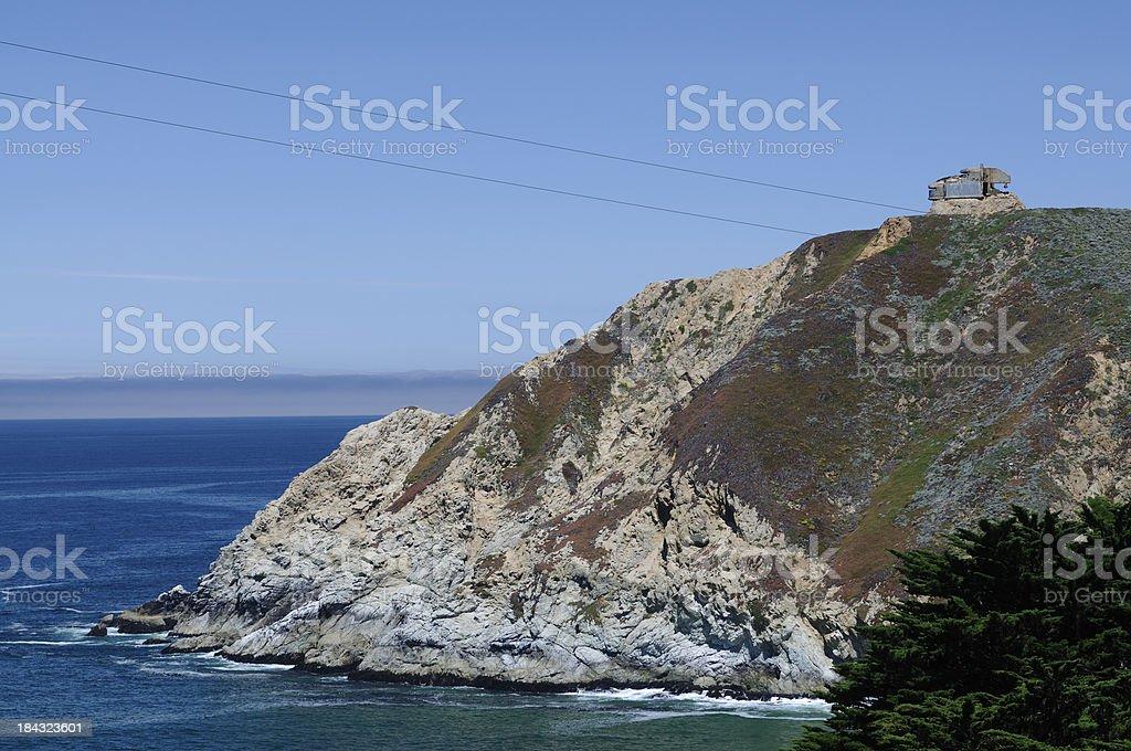 Devil's Slide in Pacifica California stock photo