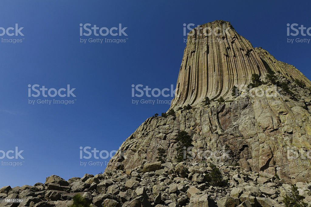 Devils Tower royalty-free stock photo