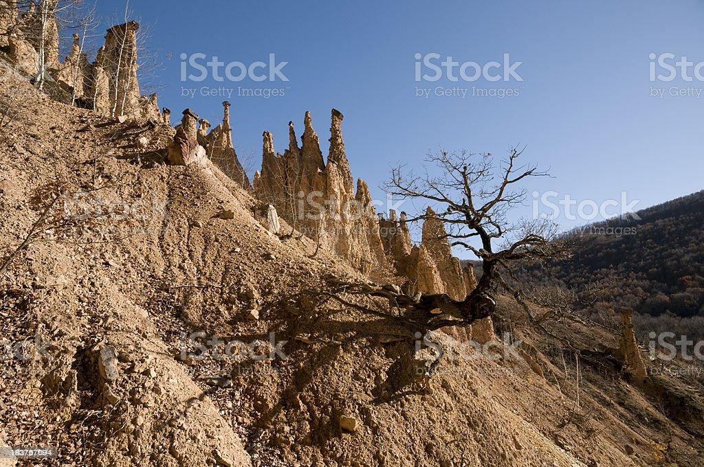 Devil's Town (Djavolja Varos, Serbia) stock photo