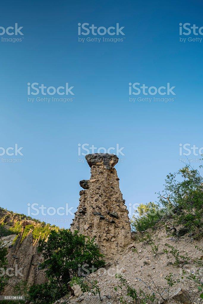 Devil's Town, Serbia stock photo