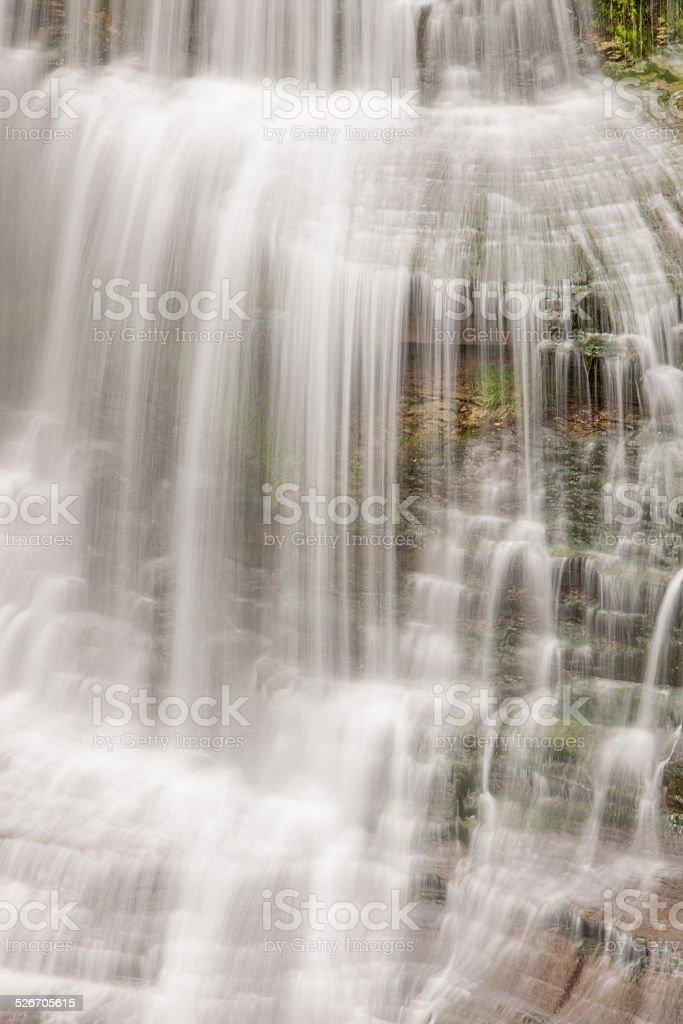 Devil's Veil Waterfall stock photo