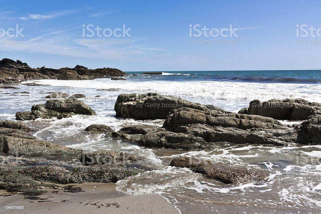 Devon Beach photo libre de droits