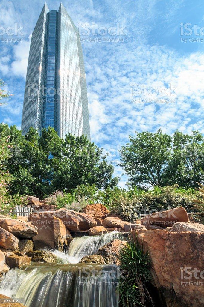 Devon Tower stock photo