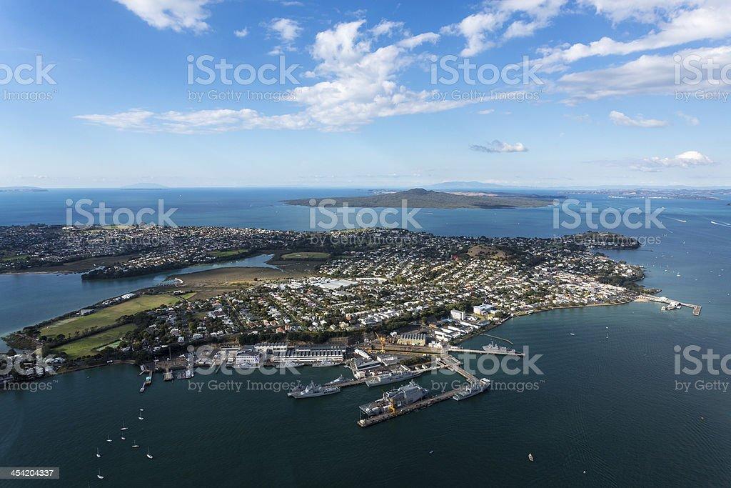 Devonport, Auckland, NZ stock photo