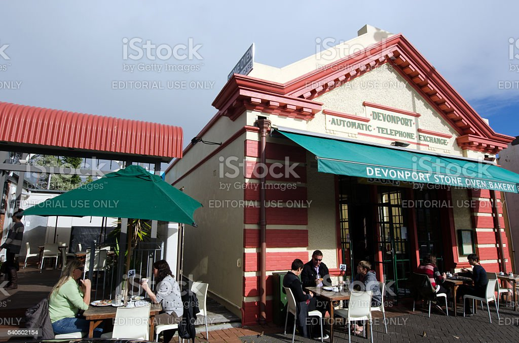 Devonport, New Zealand stock photo