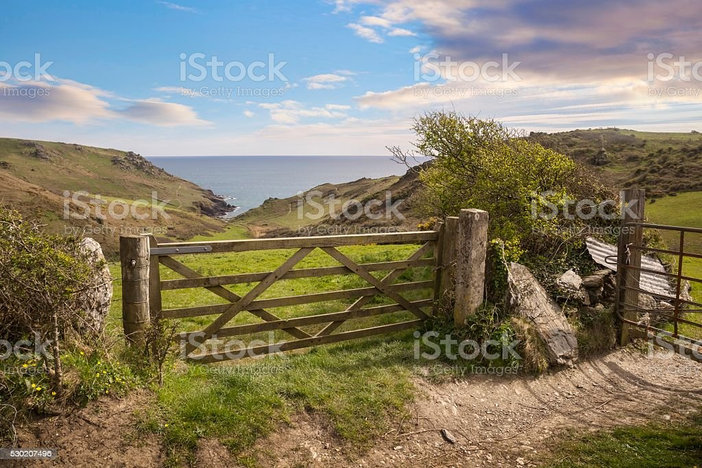 Devonshire Countryside stock photo