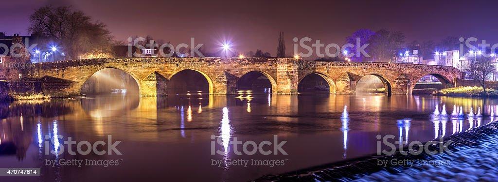 Devorgilla Bridge stock photo