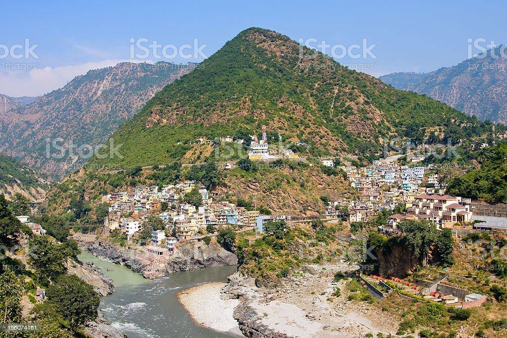 Devprayag, Uttrakhand, India. royalty-free stock photo