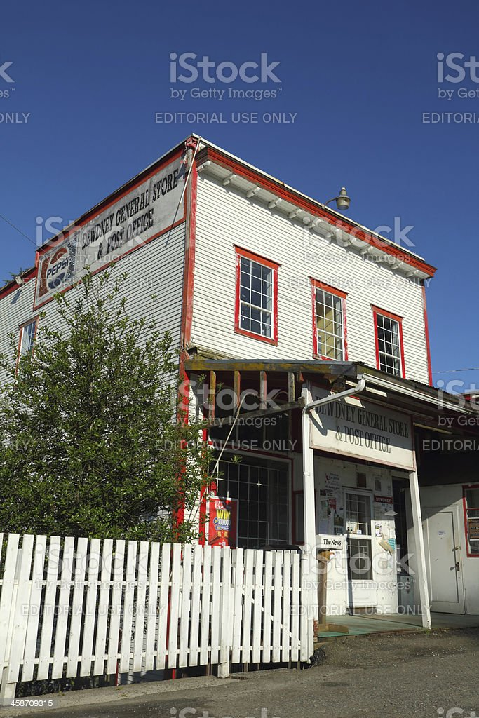 Dewdney General Store, British Columbia royalty-free stock photo