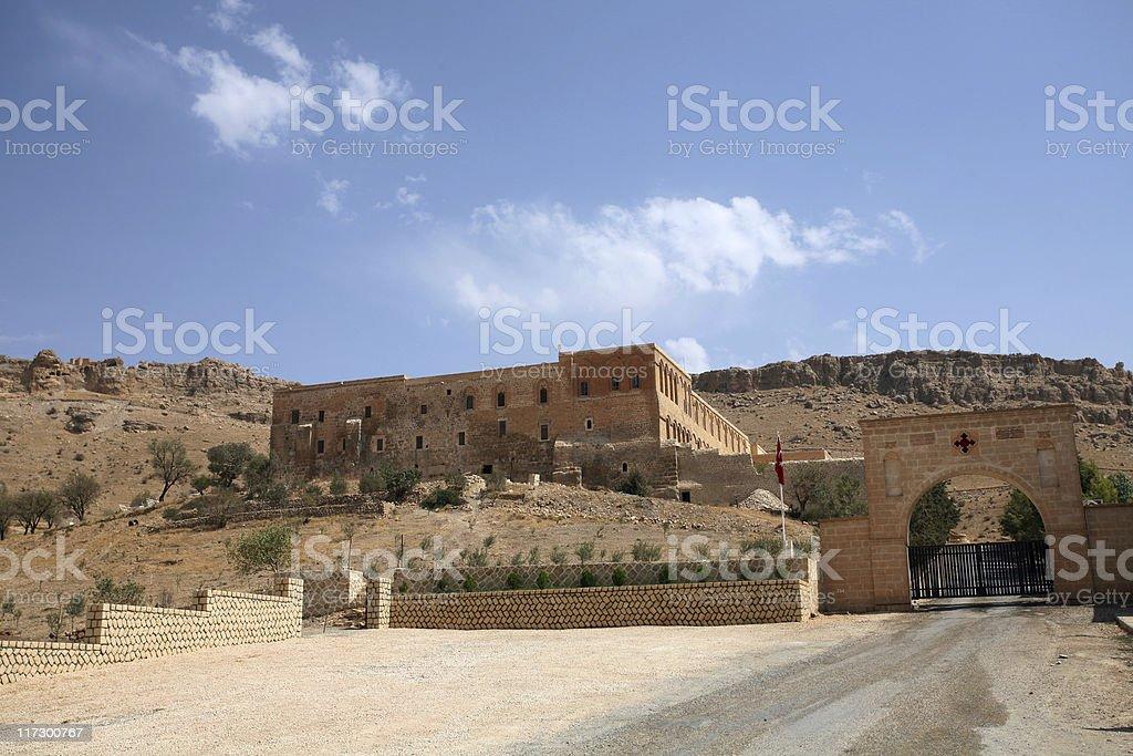 Deyr?lzafar?n Monastery-Turkey stock photo