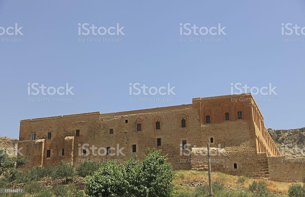 Deyrulzafaran Monastery stock photo