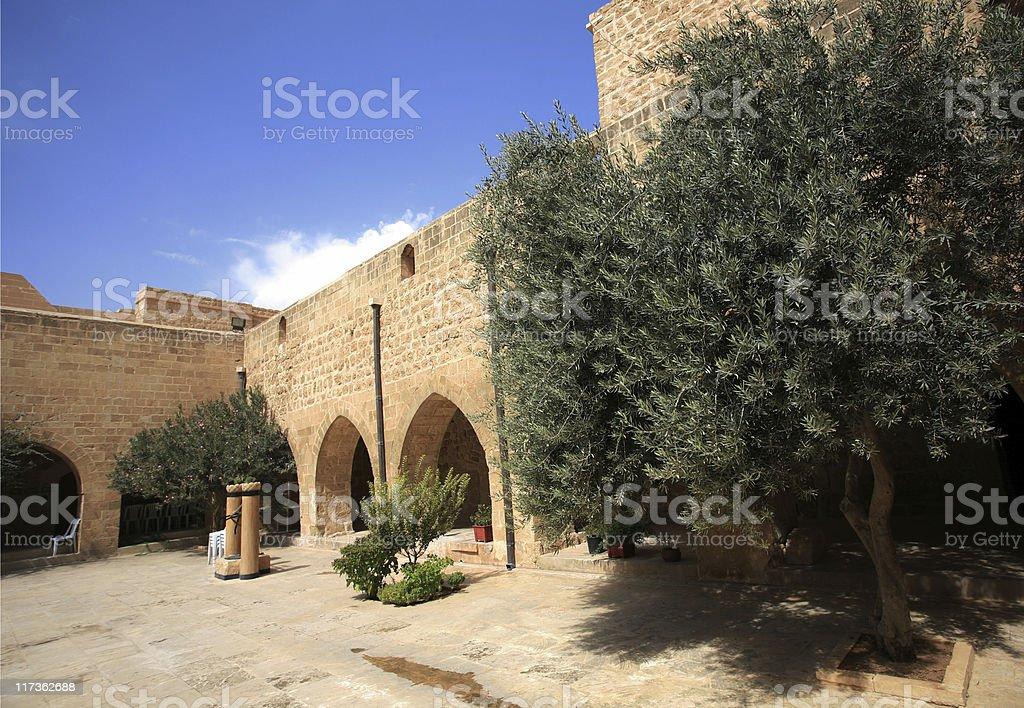 Deyrulzafaran Monastery-Turkey stock photo