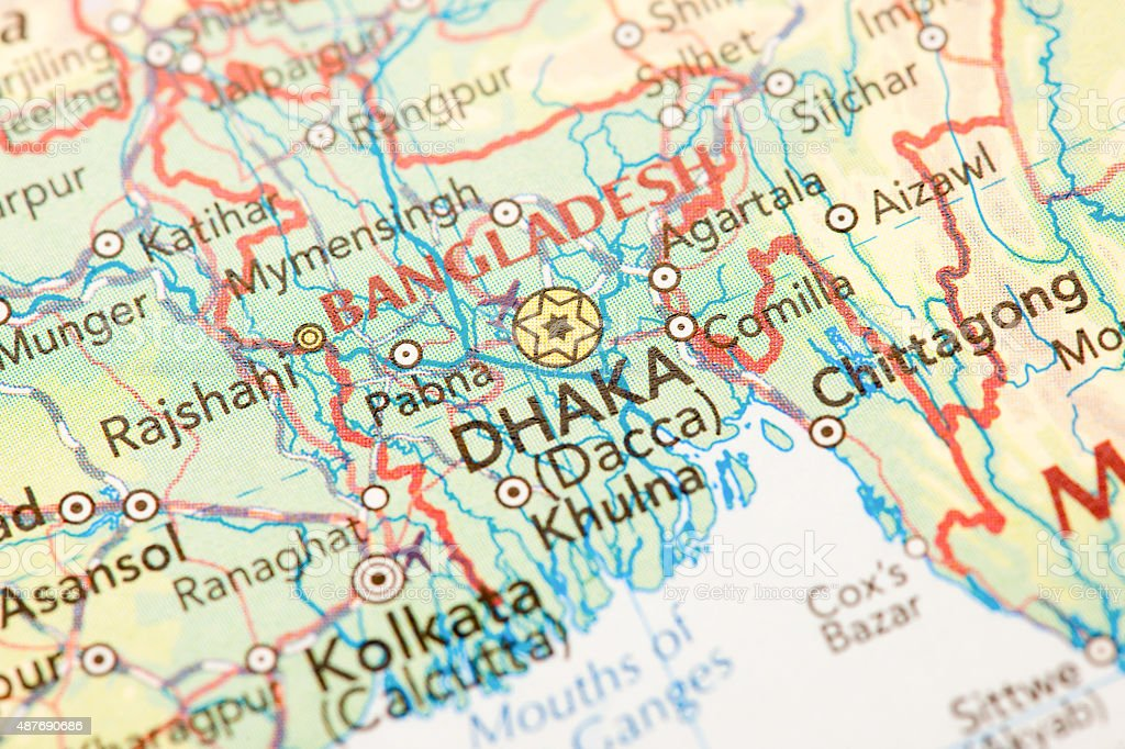 Dhaka Bangladesh stock photo