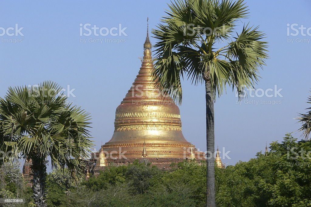 Dhamma Ya Zi Ka Pagoda in Bagan, Myanmar stock photo