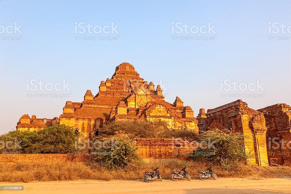 Dhammayangyi temple royalty-free stock photo