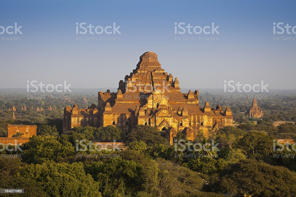 Dhammayangyi The biggest Temple in Bagan royalty-free stock photo