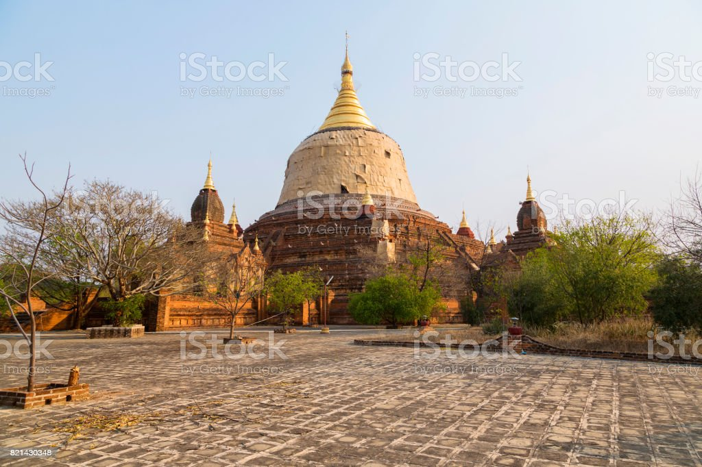 Dhammayazika, The Temples of Bagan (Pagan), Mandalay, Myanmar. BURMA stock photo