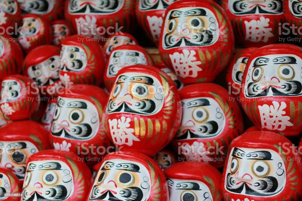 Dharma figurine stock photo