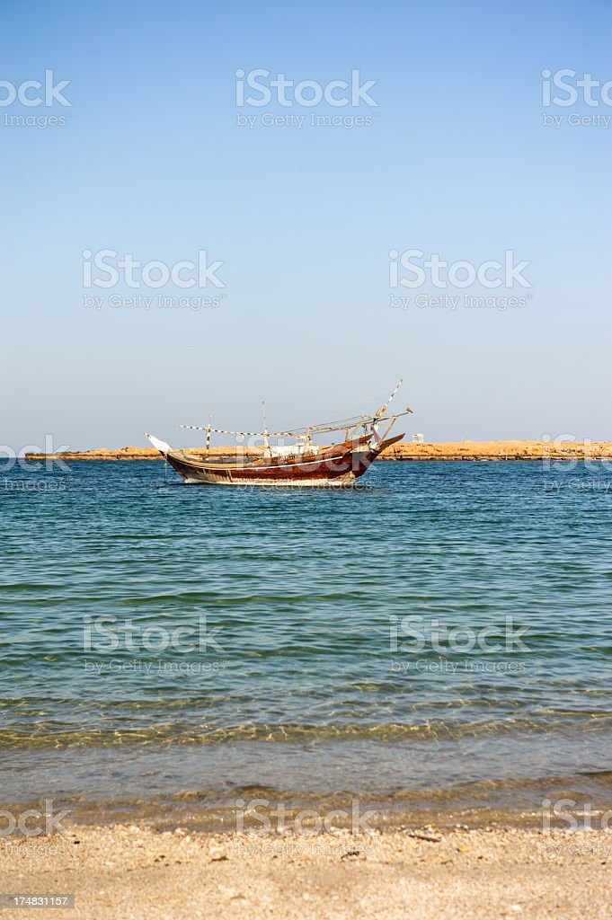 Dhow stock photo