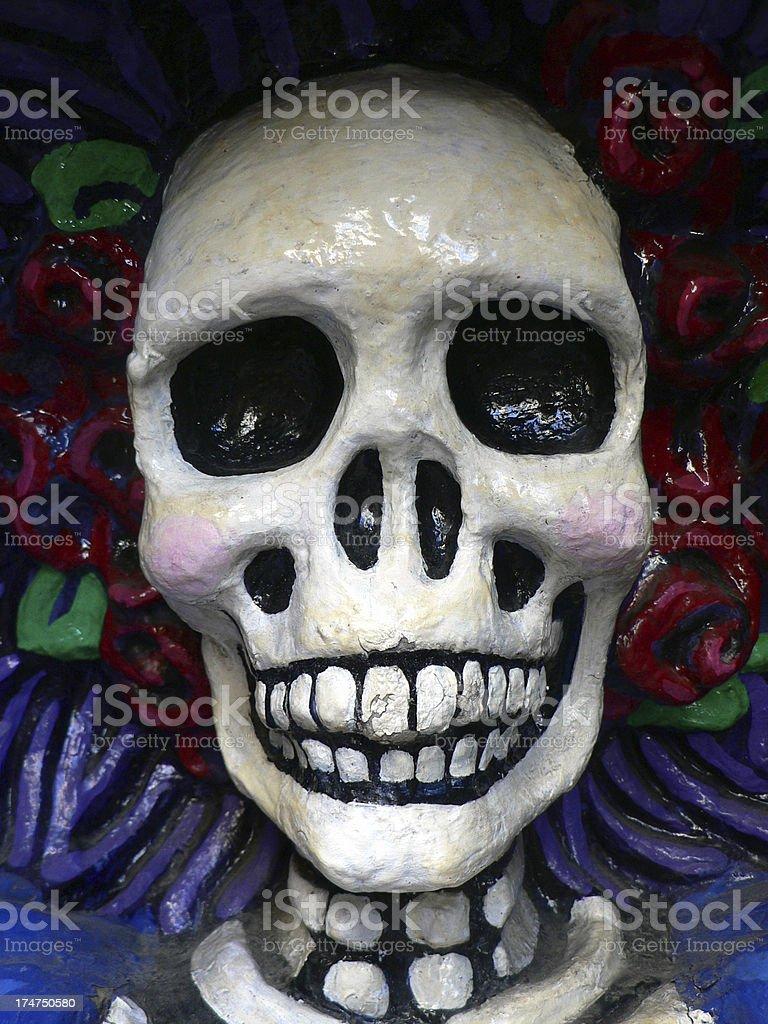 dia de los muertos mexican halloween mask royalty free stock photo - Mexican Halloween Mask