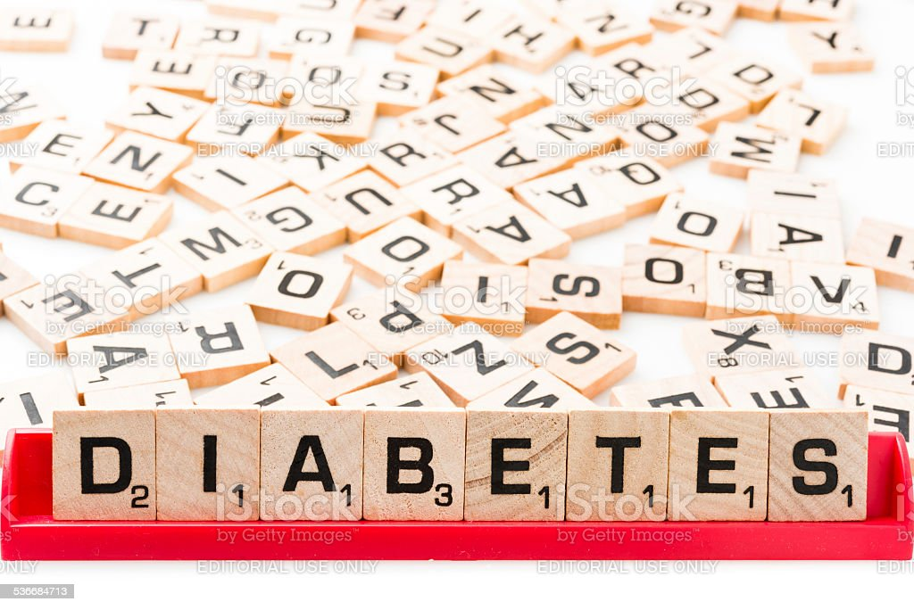 Diabetes stock photo