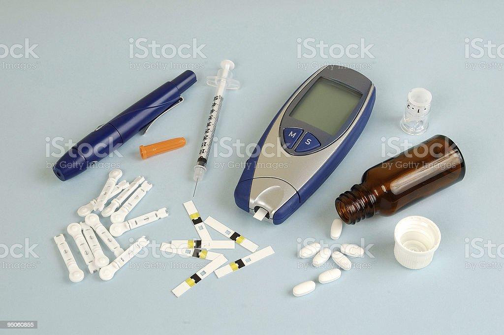 Diabetes stock photo