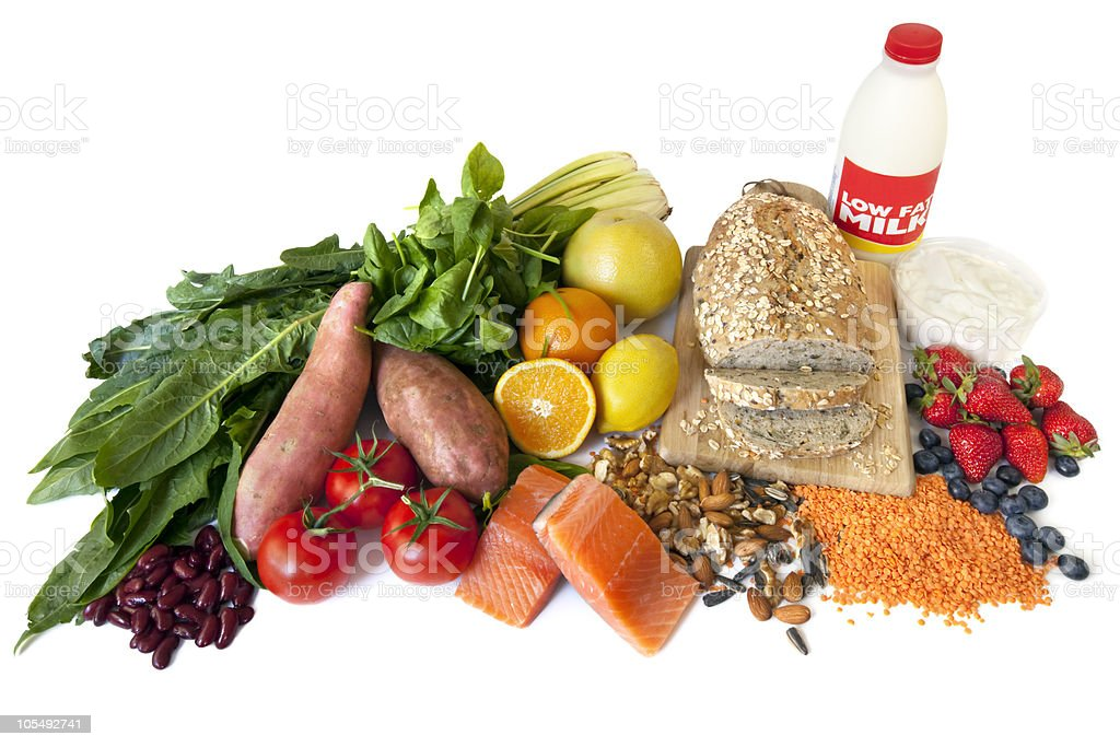 Diabetes Superfoods royalty-free stock photo