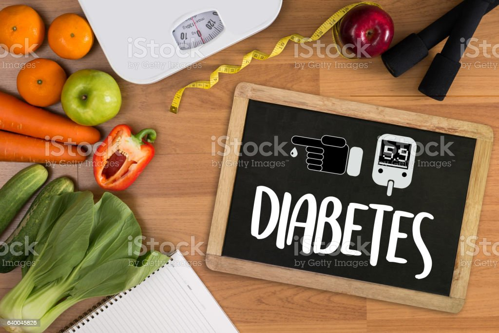diabetes test,  health Medical Concept stock photo