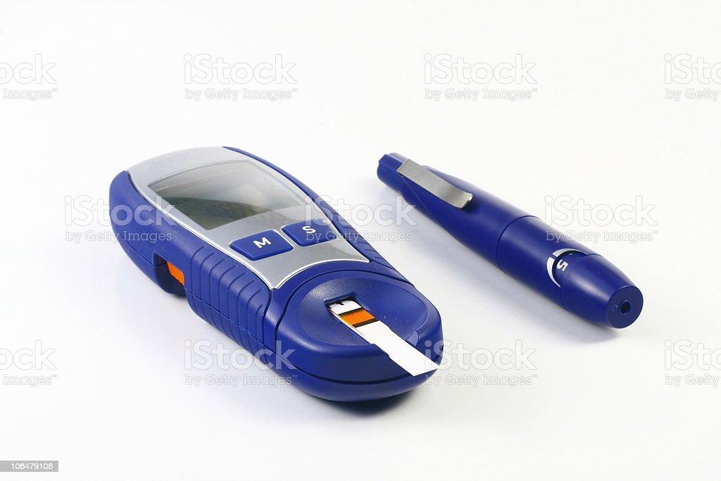 Diabetic Item stock photo