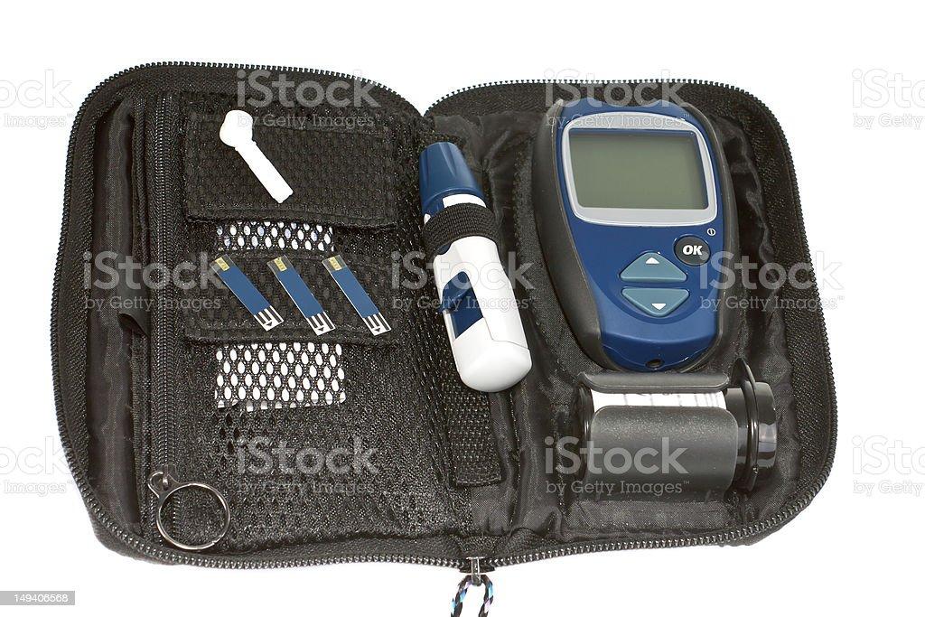 Diabetic items. stock photo