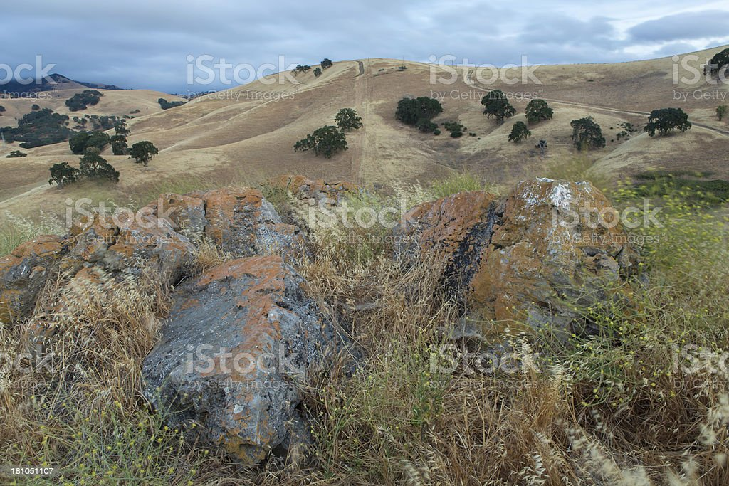 Diablo Foot Hills royalty-free stock photo