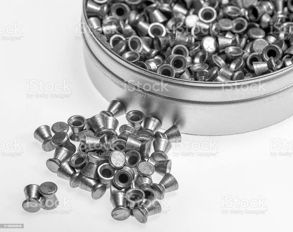 diabolo bullets stock photo