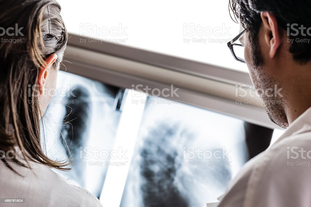 Diagnostic radiography stock photo